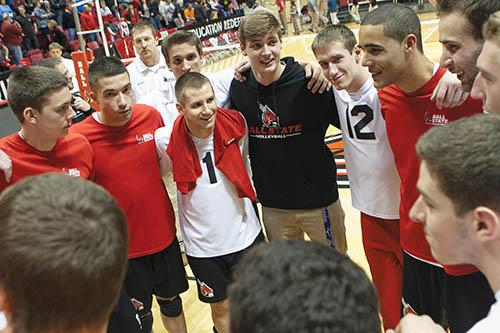 MEN'S VOLLEYBALL: Revamped Ball State enters MIVA Tournament with 12-match win streak