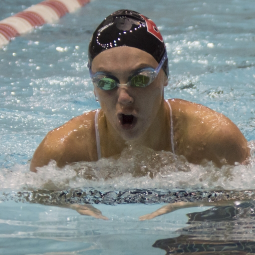 Ball State women's swim and dive head Miami Invitational