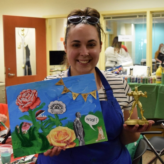 Bad Art Night returns to Maring-Hunt Library