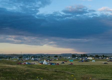 Faculty member, water protectors praise blocked route of Dakota Access pipeline