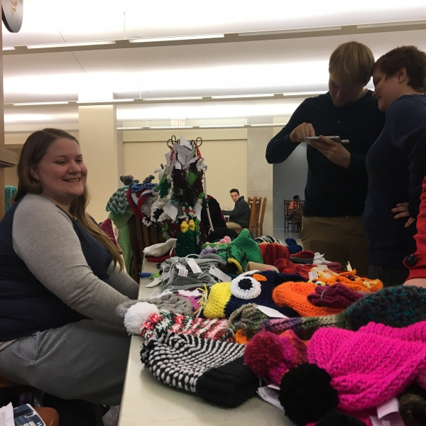 Knitting and Crocheting Club hosts annual Christmas sale
