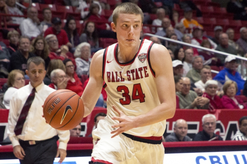 Ball State men's basketball 'gritty' play leads Cardinals over Bradley