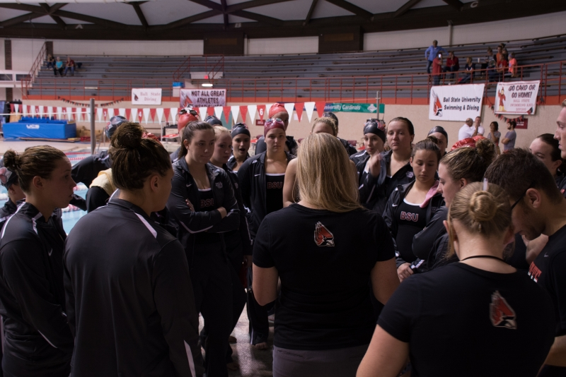 Ball State men's, women's swim and dive sweep MAC Swimmer of the Week honors