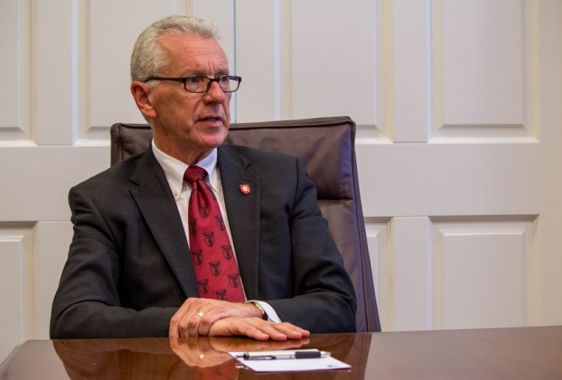 Interim President Terry King to retire in June