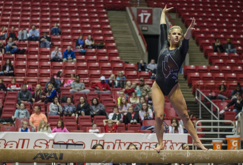 PREVIEW: Ball State gymnastics hosts MAC rival Northern Illinois