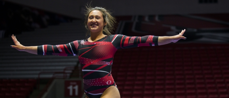 RECAP: Ball State gymnastics vs. Western Michigan
