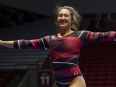 The Ball State gymnastics team took on Northern Illinois in their home opener on Jan. 15 at Worthen Arena. The Cardinals beat the Huskies 194.175-193.475.