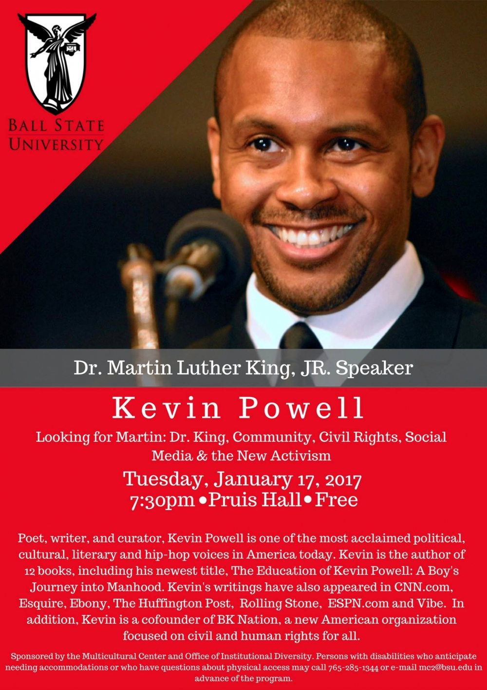 Thumbnail for MLK Celebration Day events begin on campus