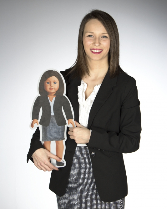 Student creates campaign, creative résumé for American Girl