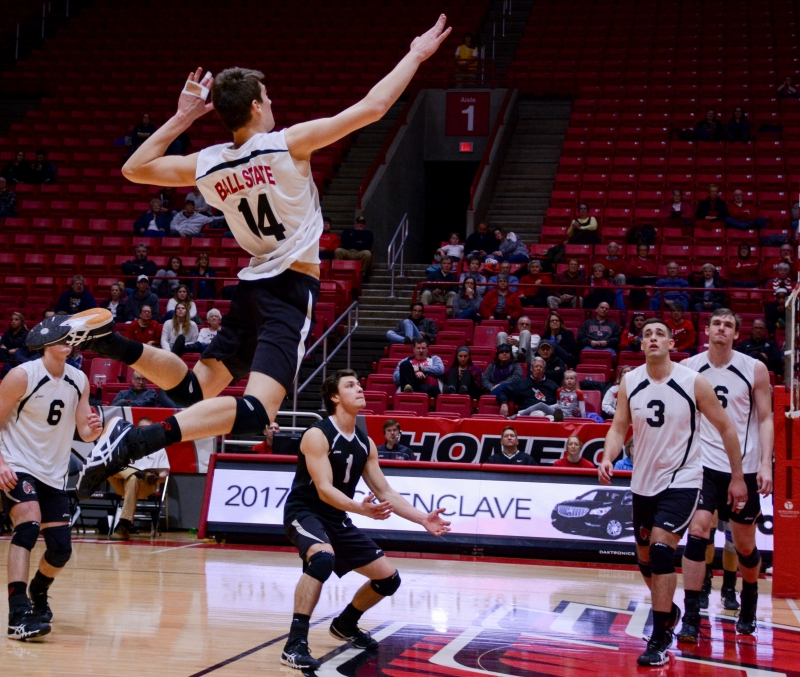 RECAP: Men's volleyball vs. NJIT