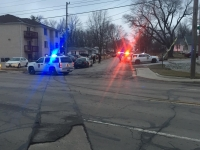 Police responded to a shooting at 1701 N. Rosewood Ave. on Jan. 28. One person was shot and transported to IU Health Ball Memorial Hospital.