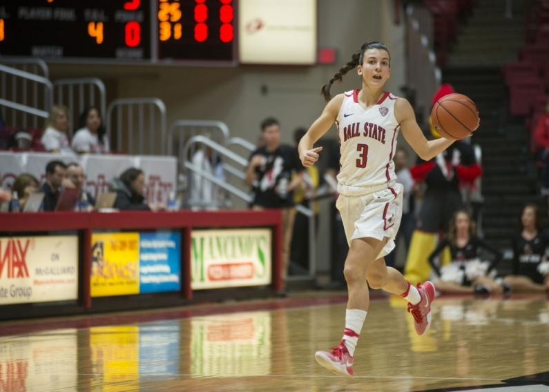 Point Grande: Sophomore from Madrid works overtime to be at the top of her game