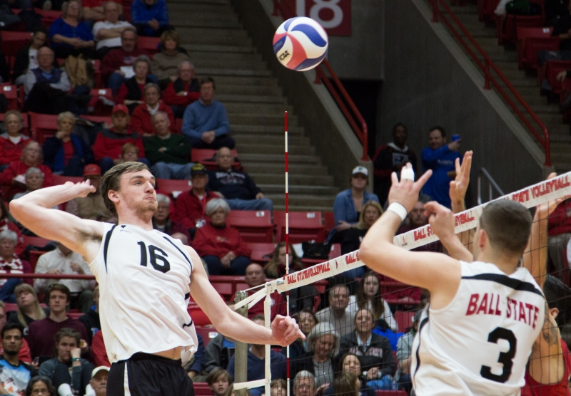 RECAP: No. 11 Ball State men's volleyball at McKendree