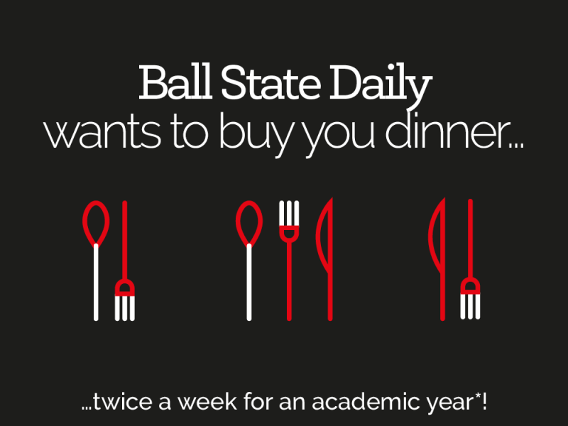 Win a dining voucher from Ball State Daily!