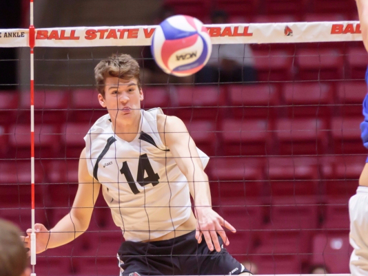 Ball State men's volleyball loses consecutive matches for the first time this season