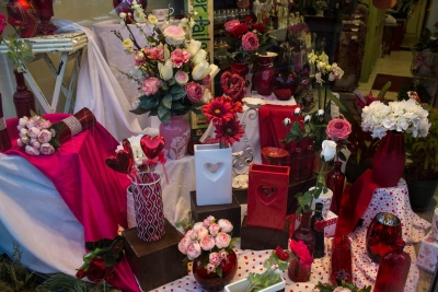 With the high demand for beautiful bouquets, most flower shops see an increase in business leading up to Feb. 14. Normandy Flower Shop and Foister's Flowers amd Gifts are two flower shops located in Muncie. Grace Ramey // DN