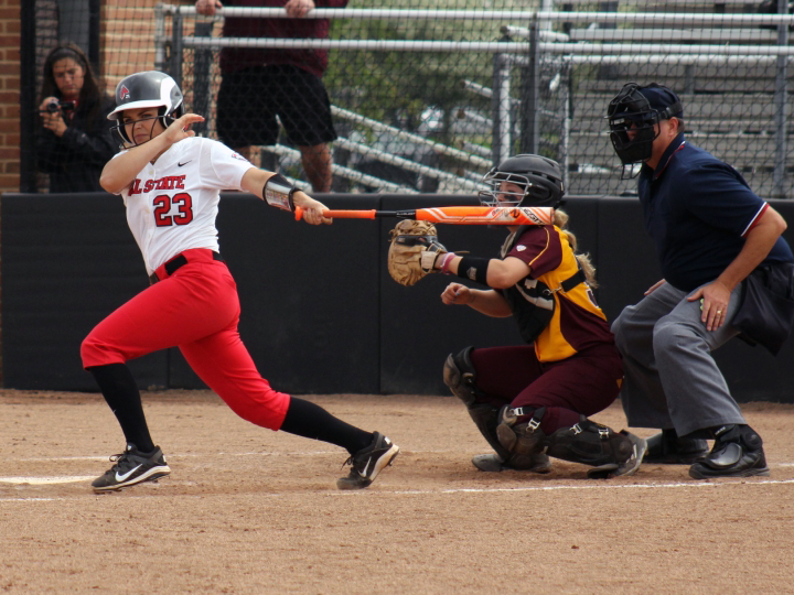 RECAP: Ball State softball takes 2 of 3 against Buffalo to open MAC play