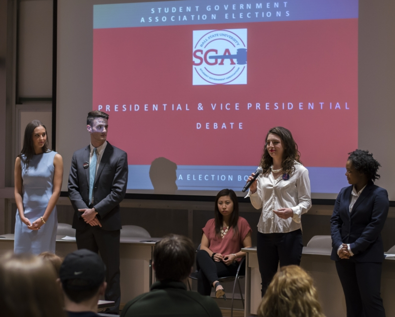 Meet the slate members running for 2017-18 SGA executive board
