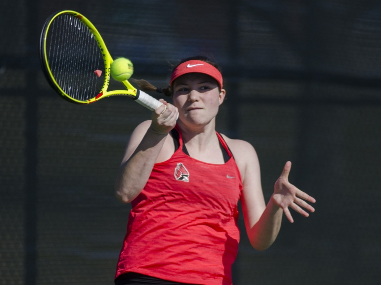 RECAP: Ball State women's tennis vs. Bowling Green State