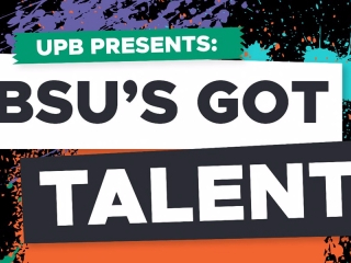 The University Program Board will host 'BSU's Got Talent' on Feb. 22 at 8 p.m.in John J. Pruis Hall. The event will allow students to compete for up to $150 in gift cardswith performances ranging in everythingfrom singing to impressions. UPB Benny Link // Photo Courtesy