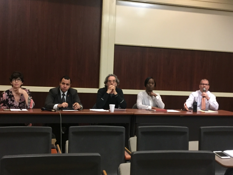 Panel discusses free speech, assembly at Ball State