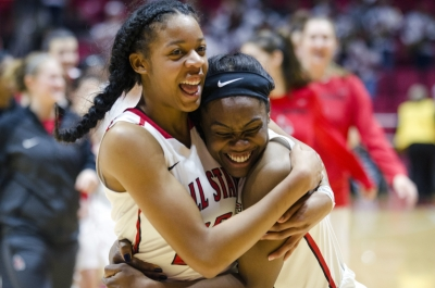 Ball State women's basketball competed against Central Michigan on Feb. 25 in John E. Worthen Arena. The Cardinalswon the game 81-73, improving their rankings to20-8, 13-3 MAC.