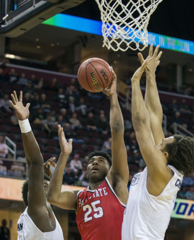 Bench play not enough in Ball State men's basketball loss to Akron