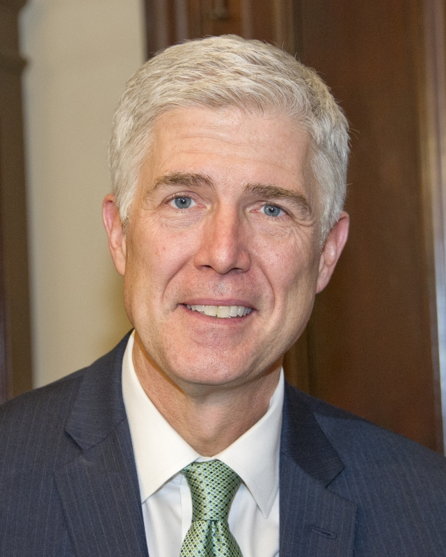The Latest: Leahy critical of Gorsuch's conservative support