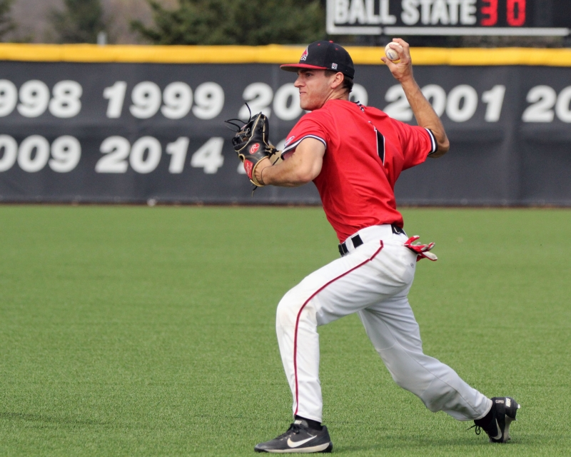 Ball State baseball swept by Kent State in MAC-opening series