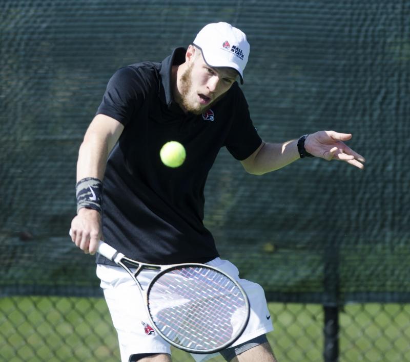 RECAP: Ball State men's tennis vs. Toledo