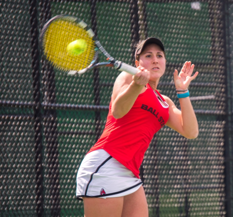 RECAP: Ball State women's tennis vs. Toledo