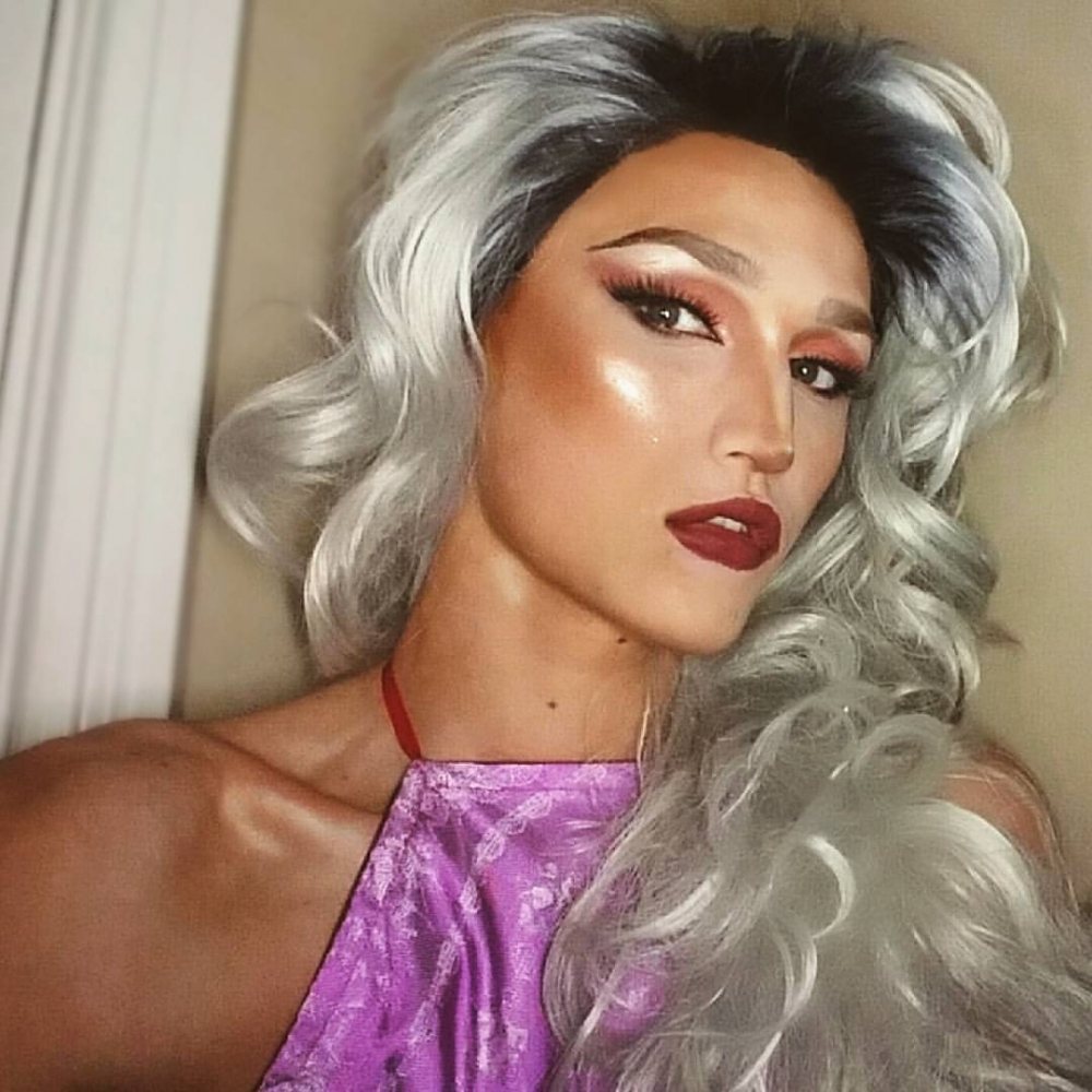 Ryne Bulington, a sophomore fashion and merchandising major, became Ryne Stone for the first time in 2016 after appearing in Ball State Spectrum's Drag Show in Wonderland. Bulington uses drag as his outlet for his art, letting it represent his own fantasy or the illusion that he creates. Ryne Bulington // Photo Provided