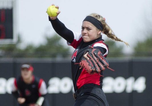 Ball State softball's Carolyn Wilmes named MAC West Division Pitcher of the Week