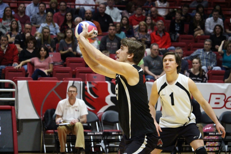 PREVIEW: No. 11 Ball State men's volleyball vs. No. 12 Loyola-Chicago in MIVA Quarterfinals