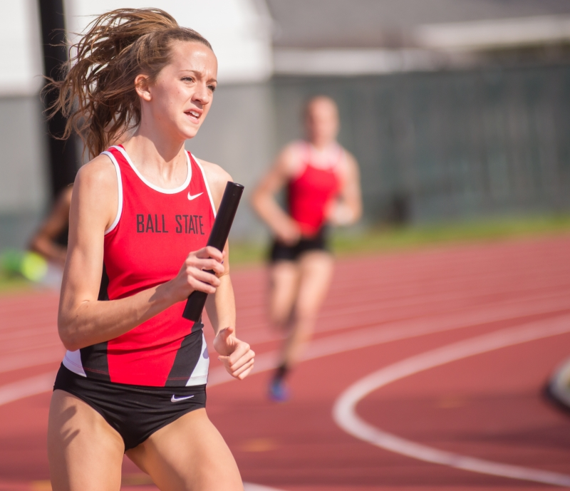 RECAP: Ball State track & field compete at Ball State Challenge