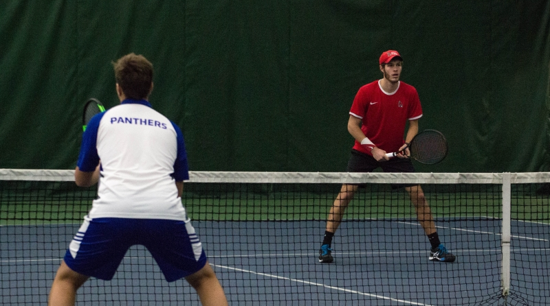Former opponents join forces to play doubles for Ball State men's tennis