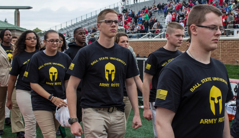 Ball State ROTC program ranked No. 1 in the nation