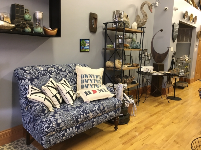 Local business owners open new store olive and slate ball state daily Home decor knick knacks