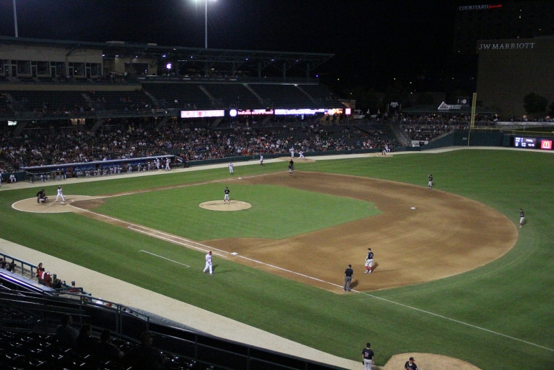 Ball State baseball experiences 'tournament atmosphere' against Indiana at Victory Field