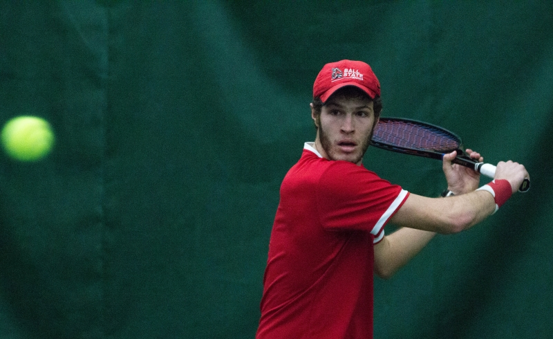 RECAP: Ball State men's tennis knocked out of MAC Tournament by Western Michigan