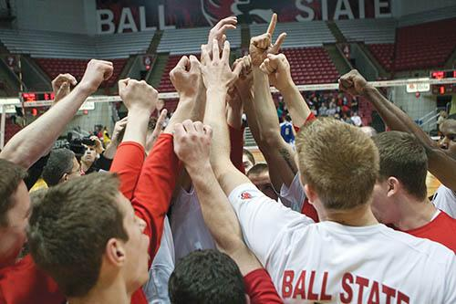 MEN'S VOLLEYBALL: Ball State, Loyola put streaks on line in MIVA semifinal match