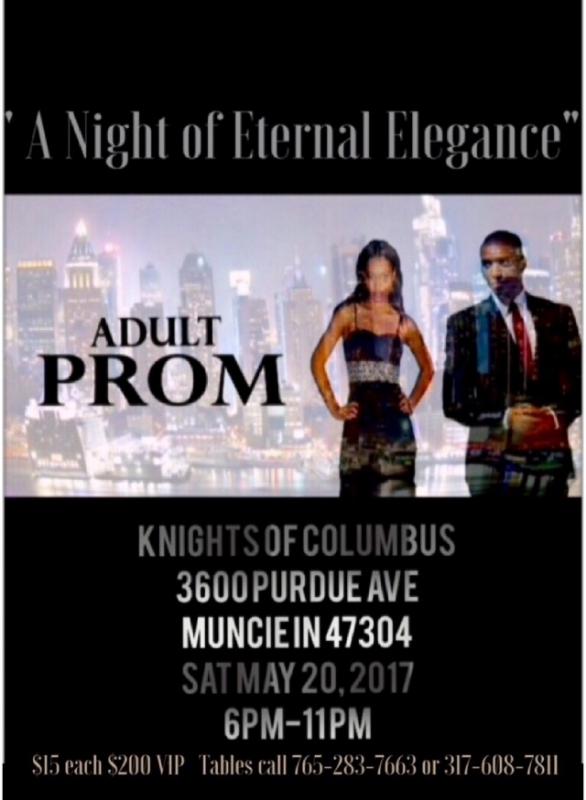 Community organization to host adult prom fundraiser