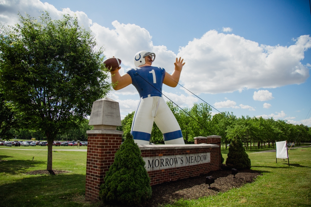 The 14th annual Indianapolis Colts Fan Fest came to Morrow's Meadow in Yorktown on June 6. Colts players Adam Vinatieri and Robert Turbin along with Colts cheerleaders came for signings.