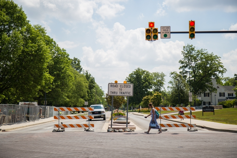 Continued construction closes parts of Ball State's campus