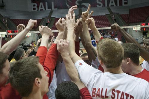 Ball State men's volleyball hosts in-state rival IPFW