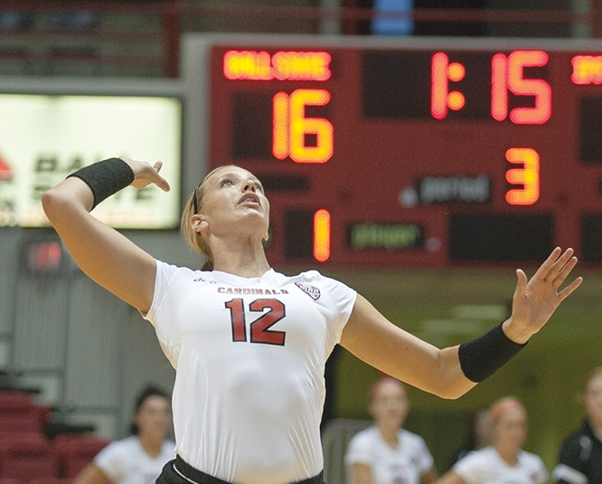 WOMEN'S VOLLEYBALL: Low preseason rank motivates Ball State