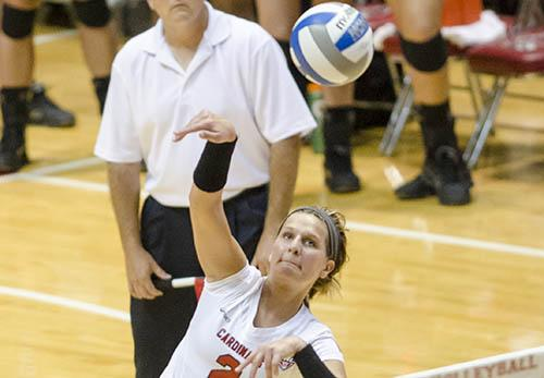 WOMEN'S VOLLEYBALL: Ball State puts loss behind them