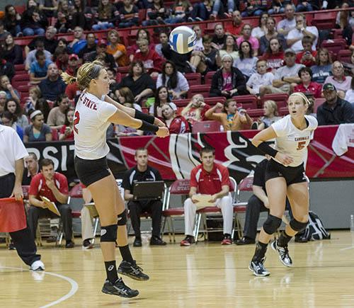 VOLLEYBALL: Fuelling leads Ball State to sweep