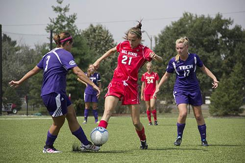 SOCCER: Ball State defeats Akron 2-0