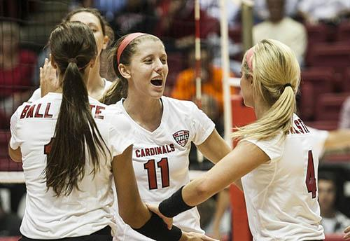 WOMEN'S VOLLEYBALL: Ball State opens conference season in Eastern Michigan
